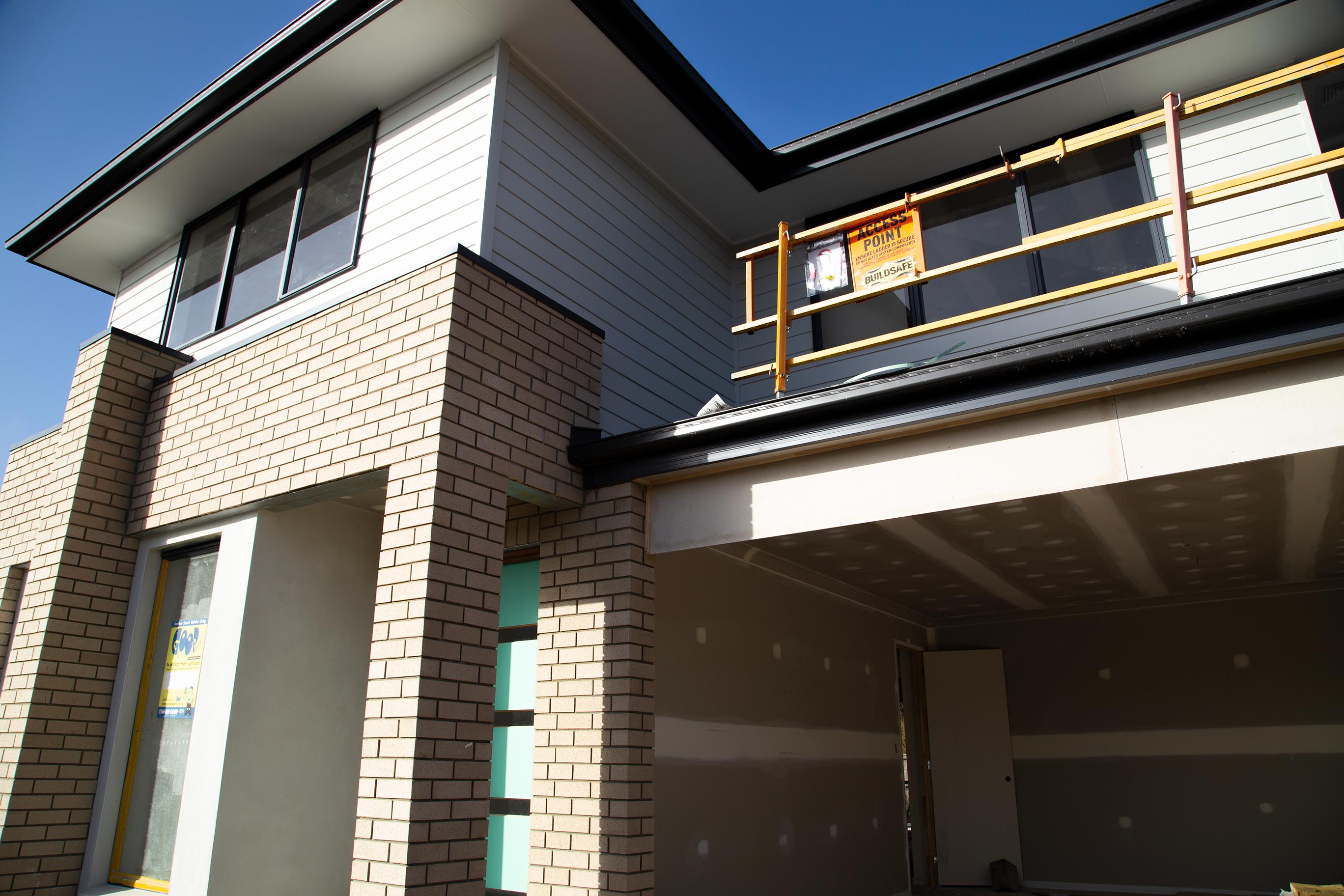 double storey house construction in Karawatha Brisbane