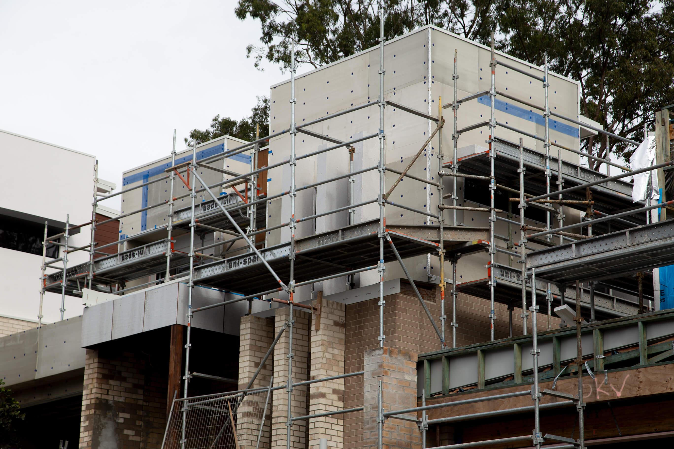 Custom-designed townhouse development in Carindale Brisbane