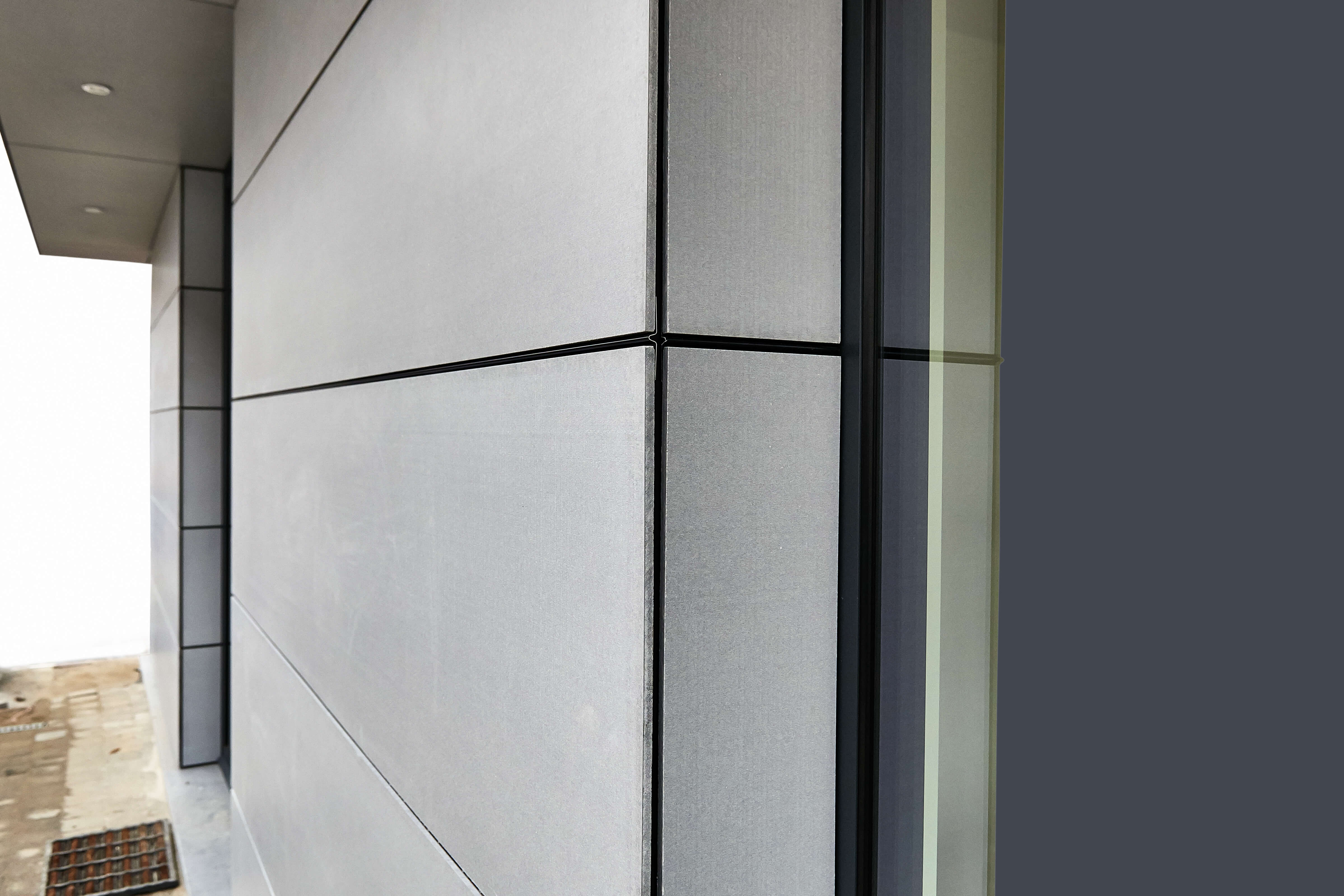Exterior cladding of a residential building carpentry service queensland