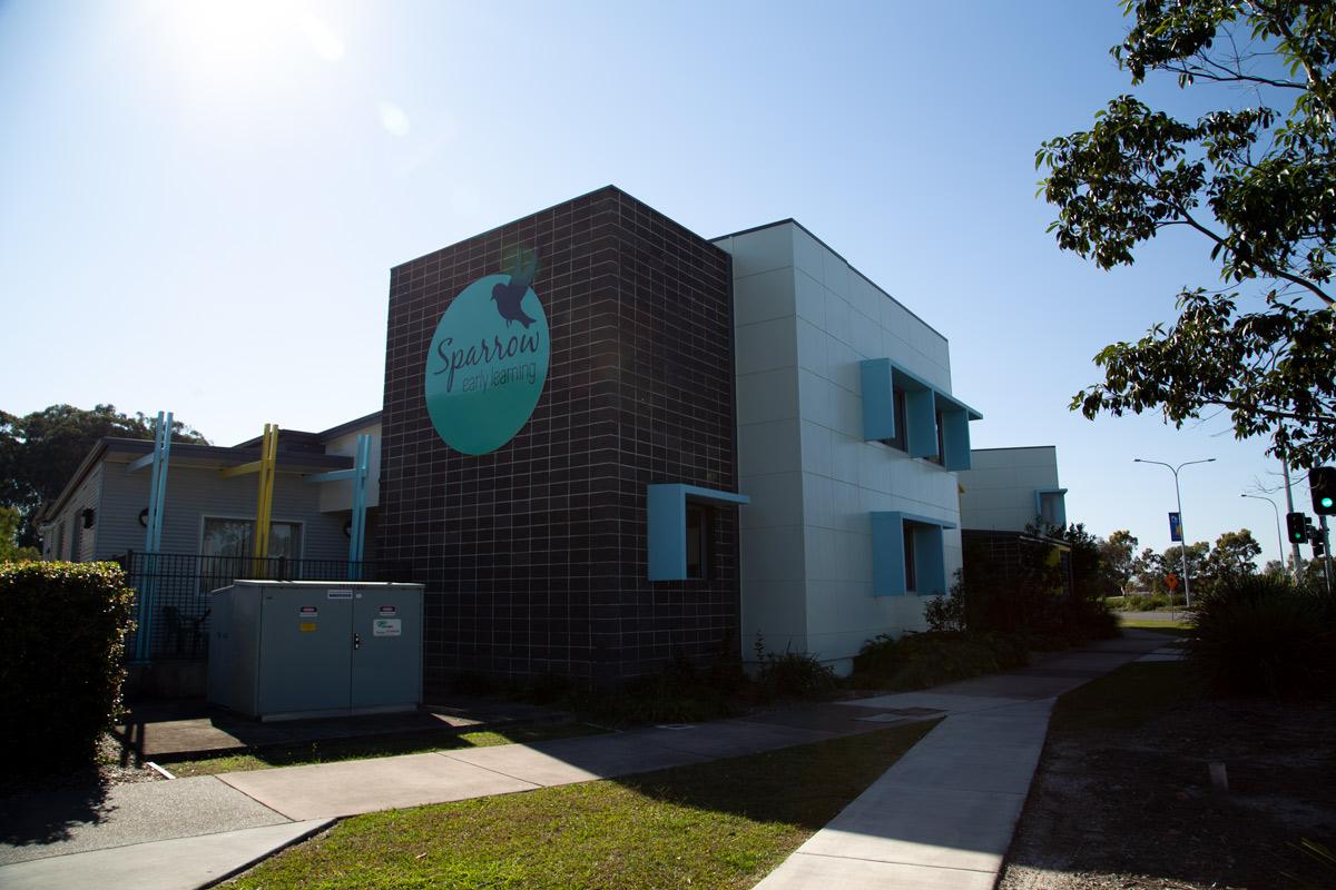 Sippy Downs Childcare Centre Development facade