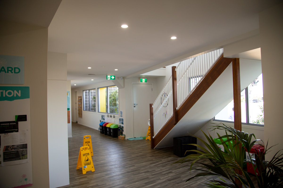 Sippy Downs Childcare Centre Development Shower