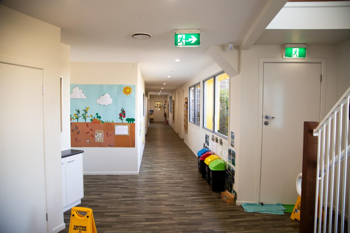 Sippy Downs Childcare Centre Development Hallway