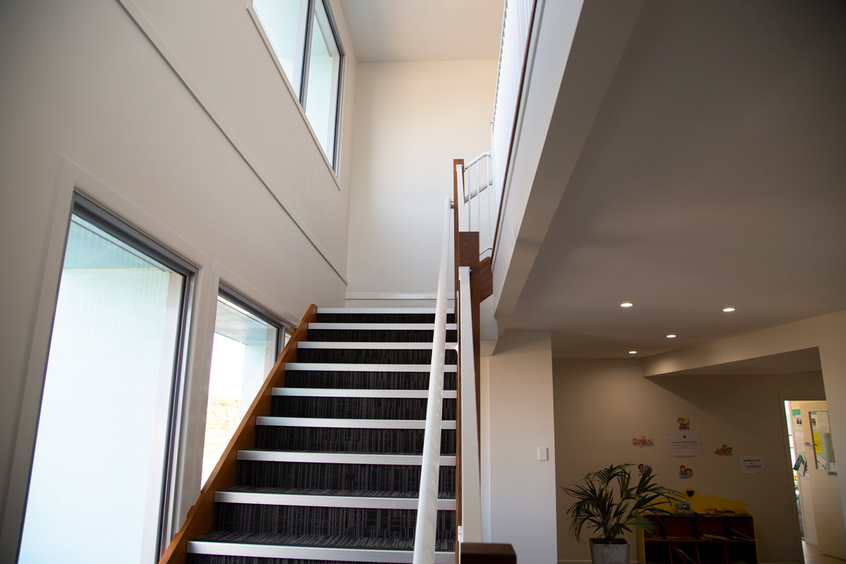 Sippy Downs Childcare Centre Development Stairs